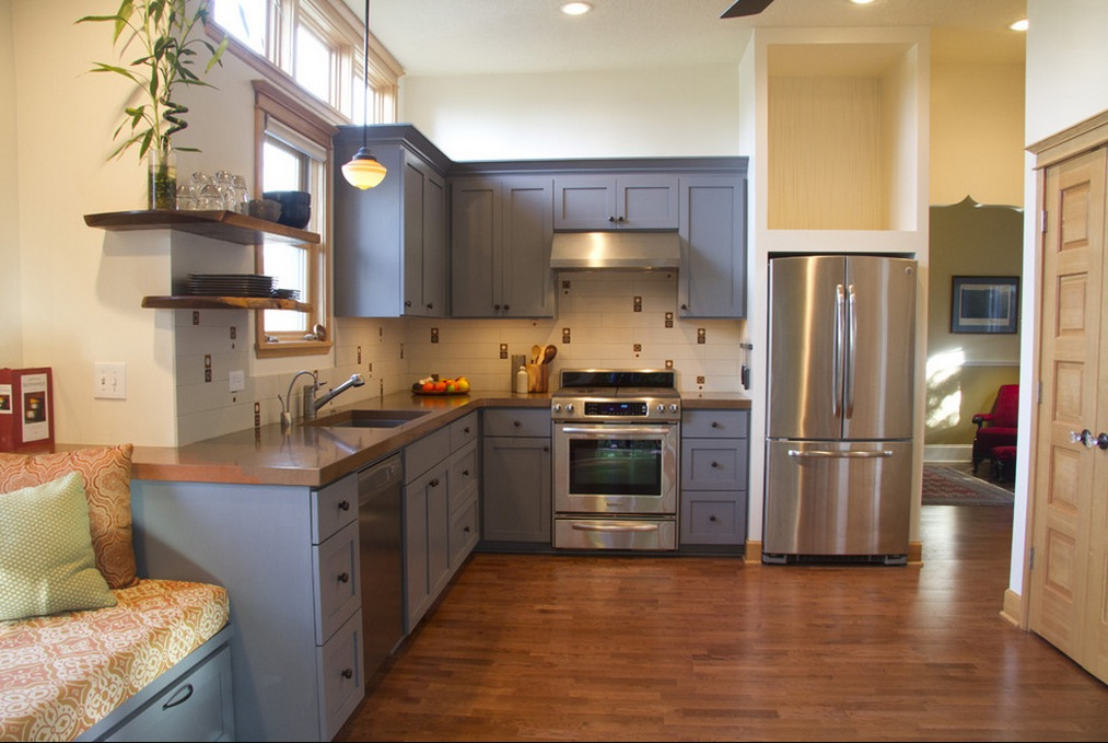 paint kitchen cabinets ideas what color photo - 1