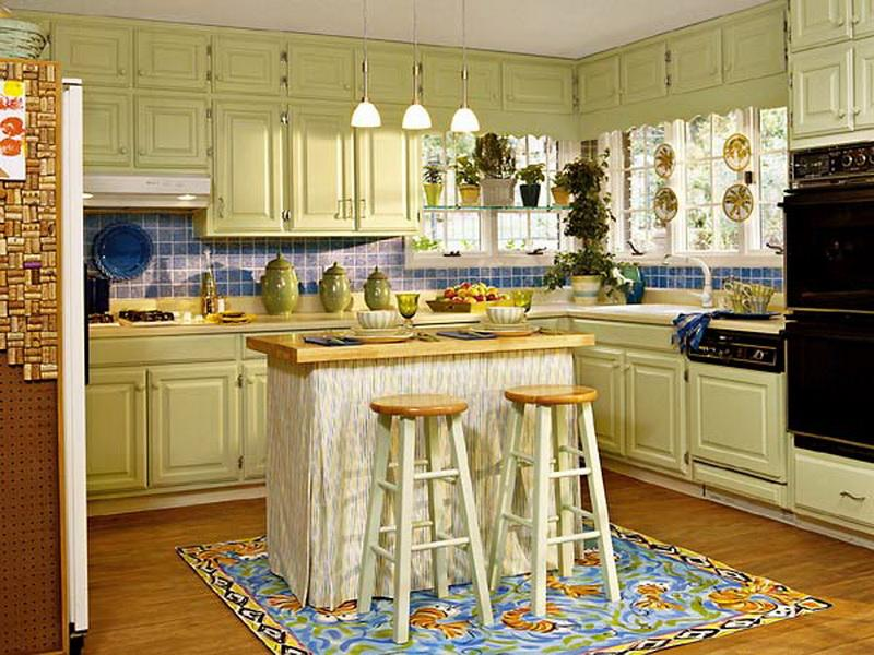paint kitchen cabinets ideas what color photo - 6