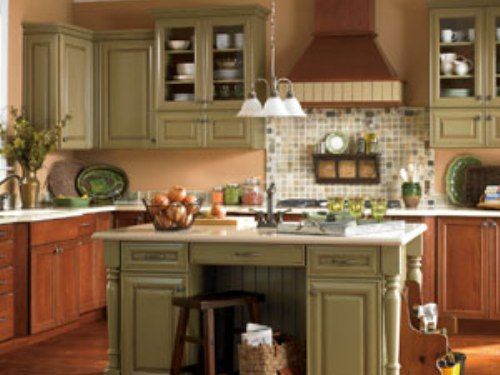 paint kitchen cabinets ideas what color photo - 8
