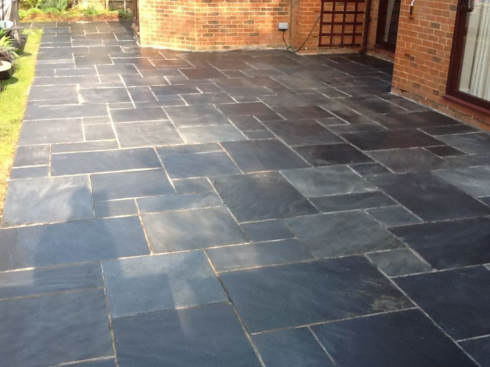 Slate Tiles For A Patio Brooklyn