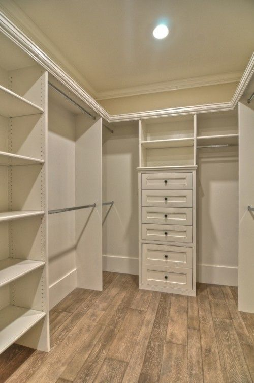 small walk in closet design layout photo - 5