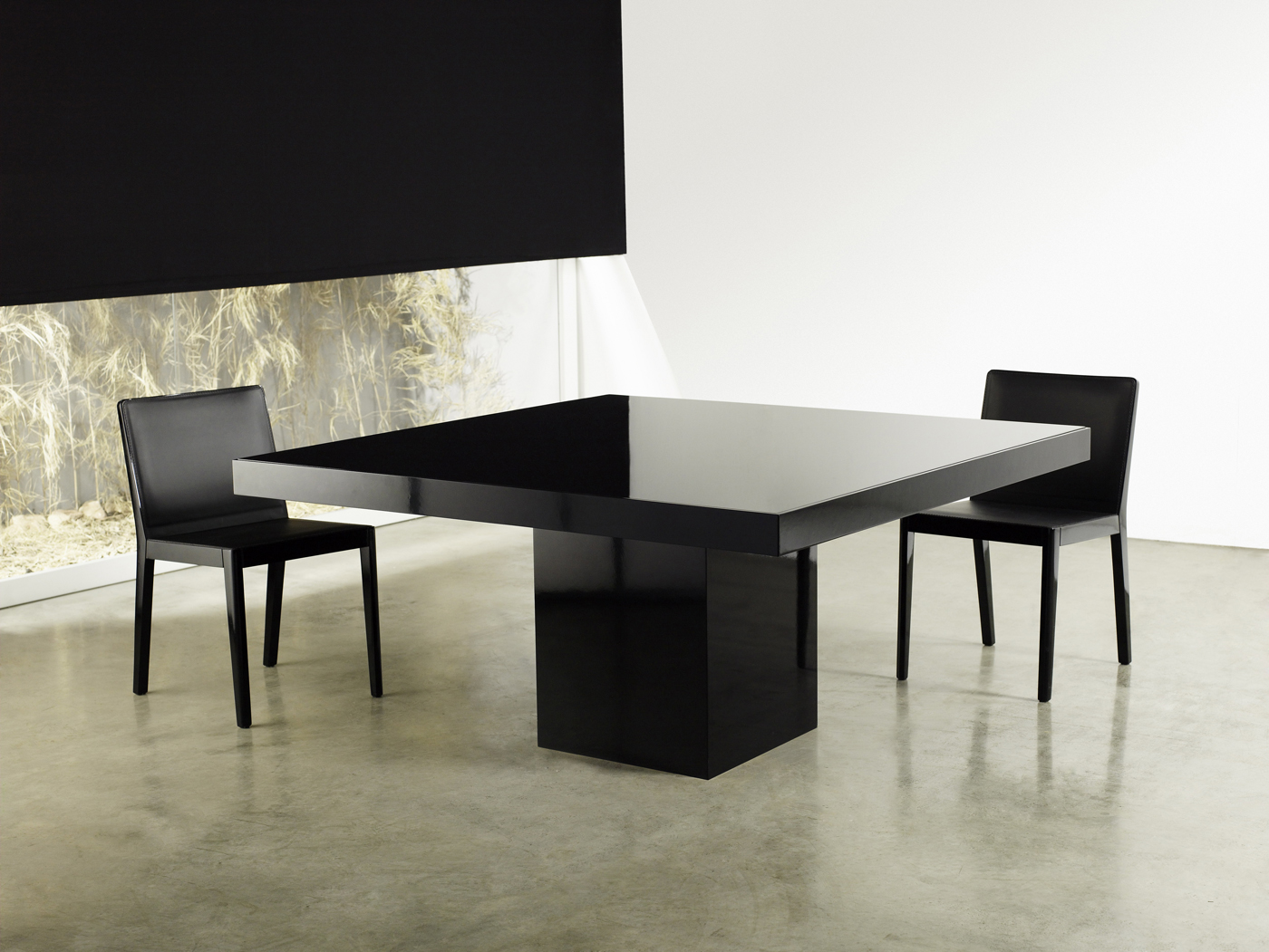 square dining table contemporary photo - 1