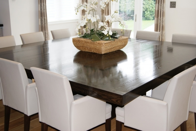 square dining table seats 12 photo - 7