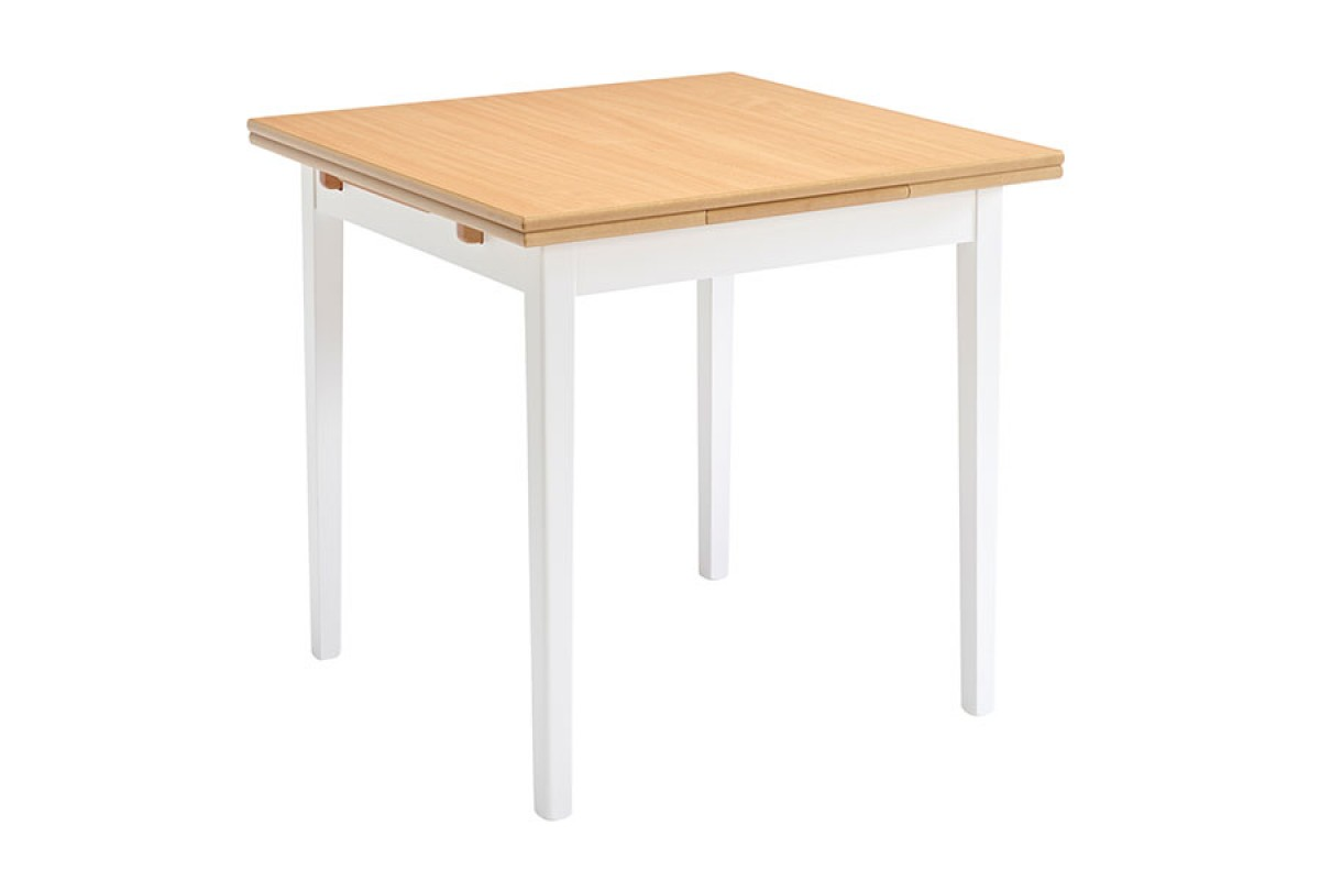 square dining table with leaves photo - 10