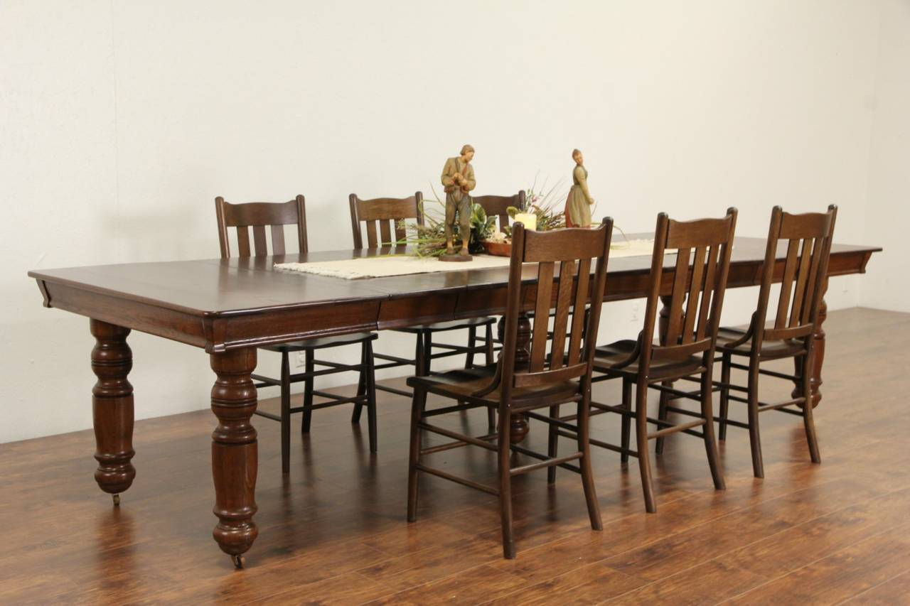 square dining table with leaves photo - 9