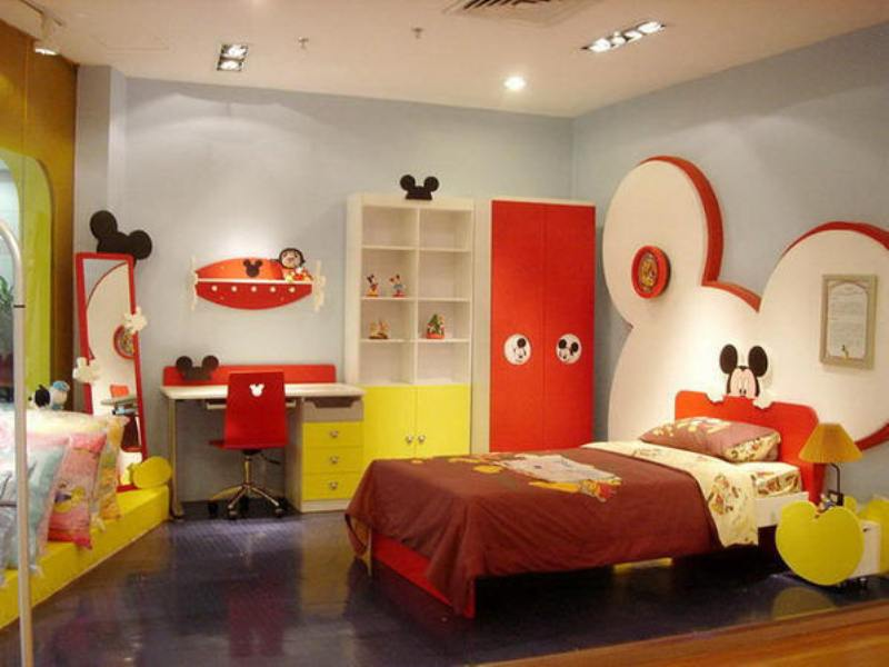 themed bedroom furniture for kids photo - 2