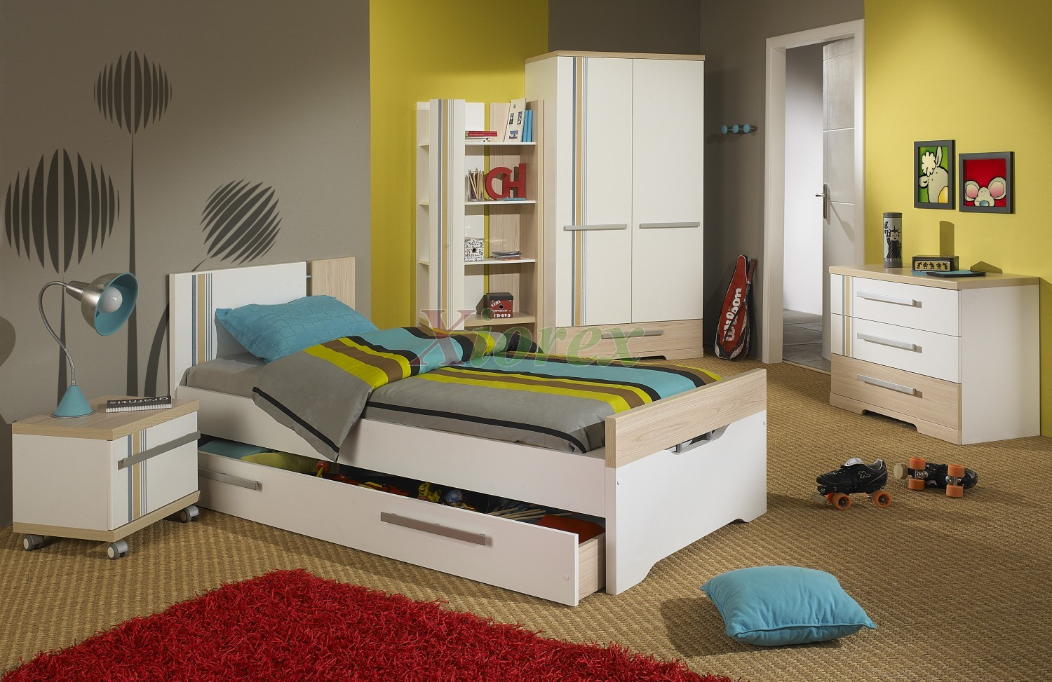 themed bedroom furniture for kids photo - 6