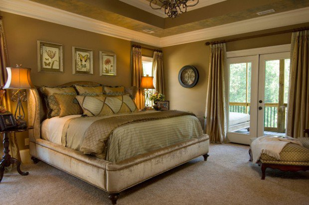 traditional bedroom paint colours photo - 3