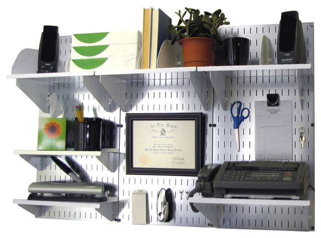 wall mounted desk accessories photo - 5
