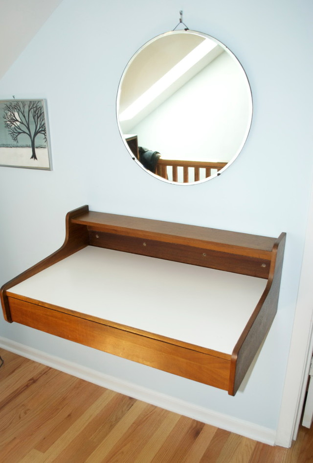 wall mounted desks for kids photo - 10
