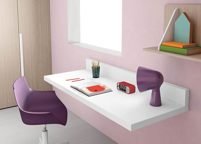 wall mounted desks for kids photo - 5