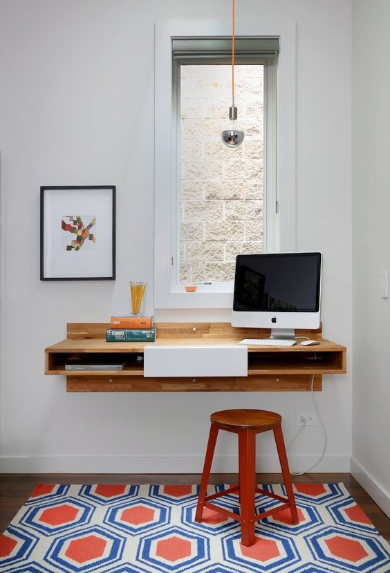wall mounted desks for kids photo - 7