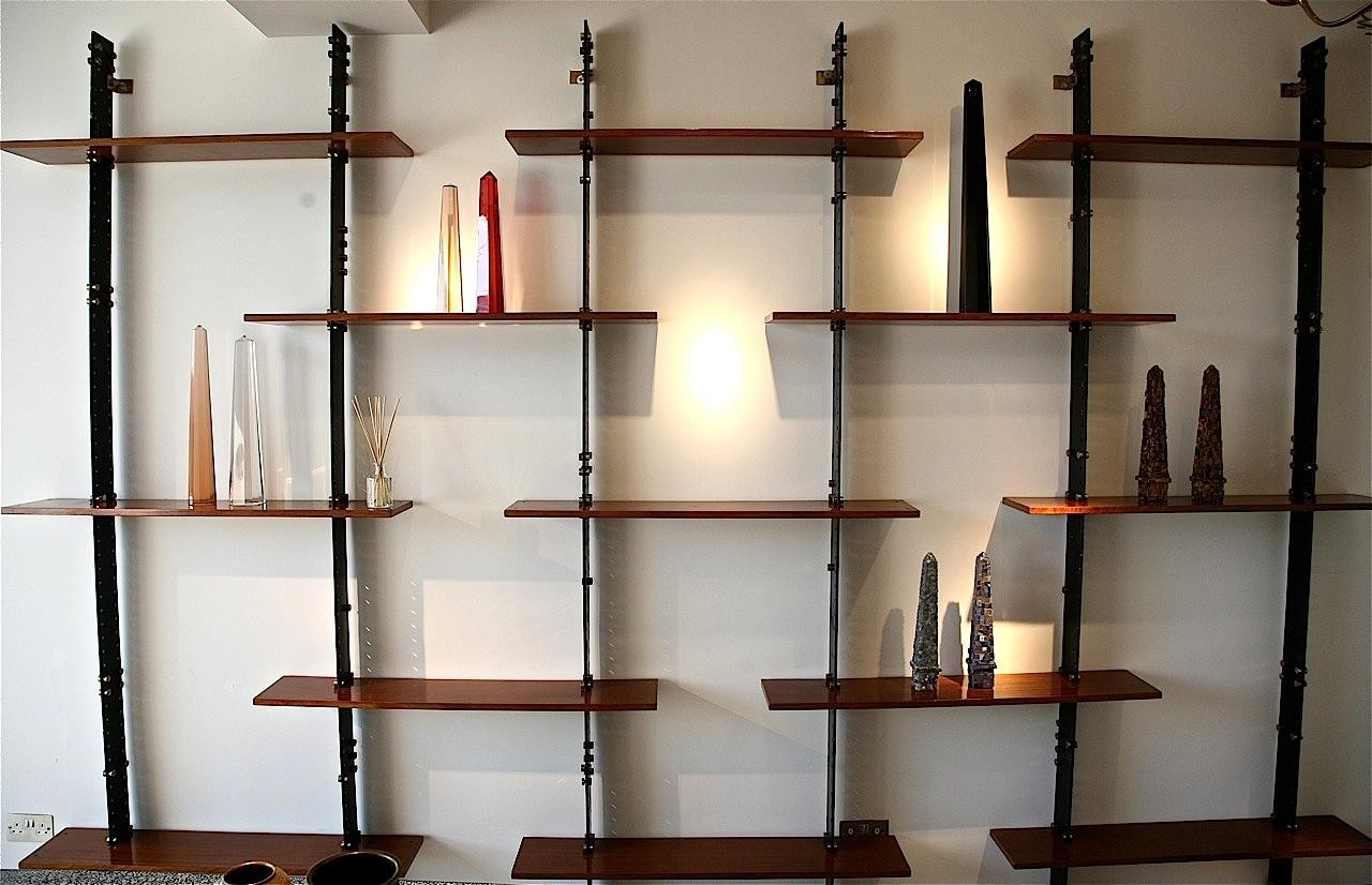 wall mounted shelves for books photo - 4