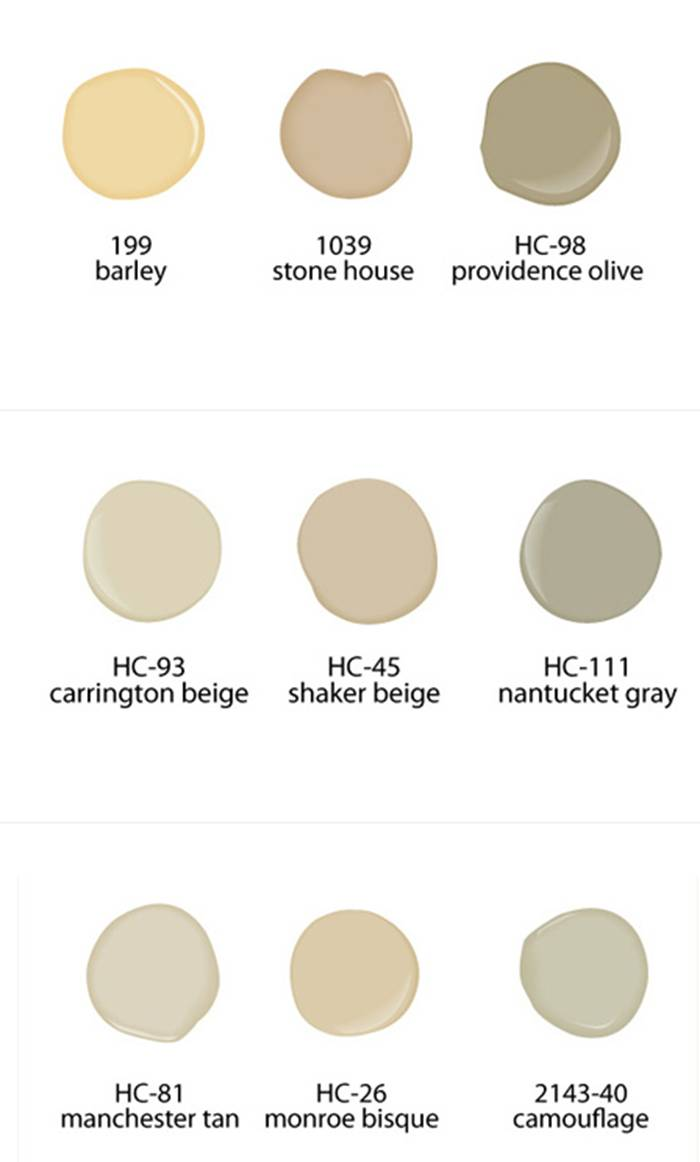 wall paint colors neutral photo - 7