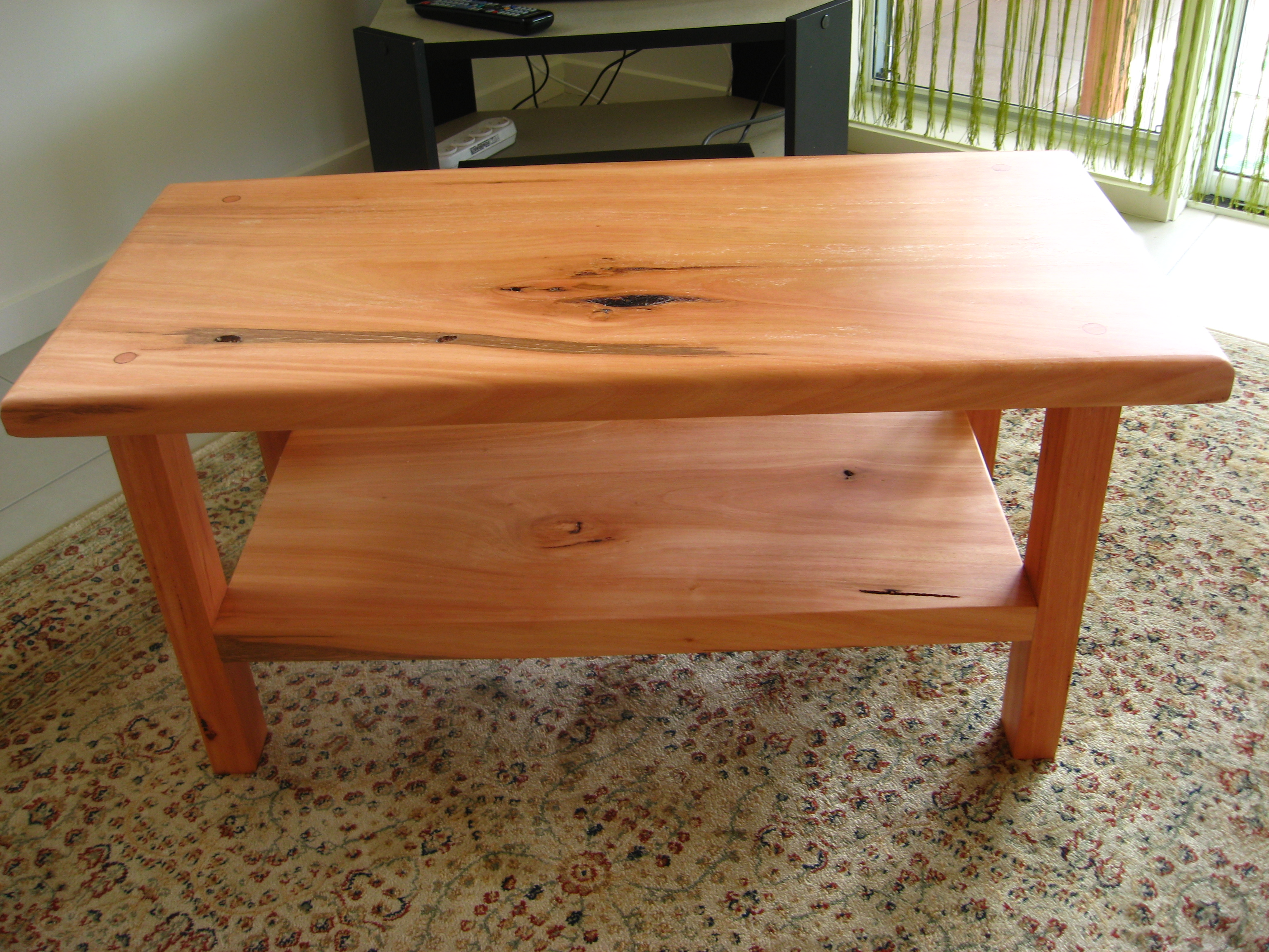 wooden coffee table design plans photo - 2