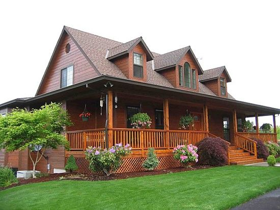 wooden country house plans photo - 3
