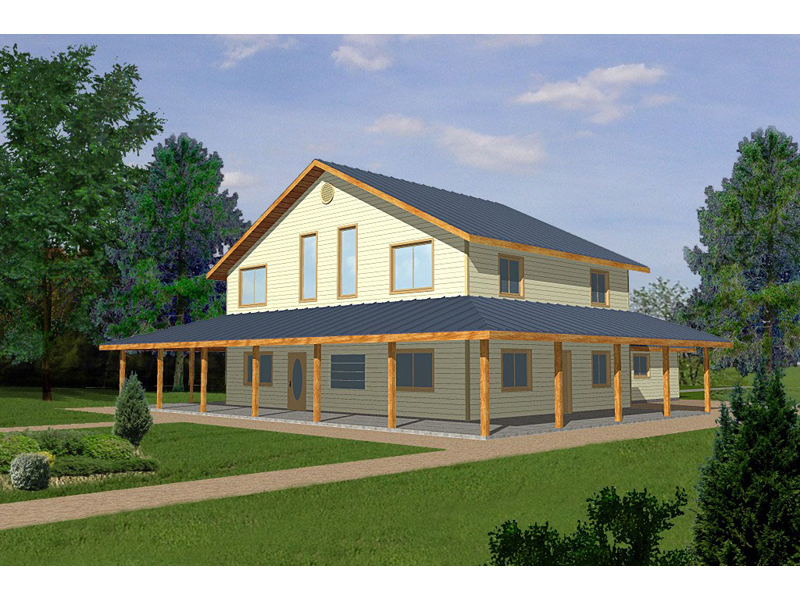 wooden country house plans photo - 7