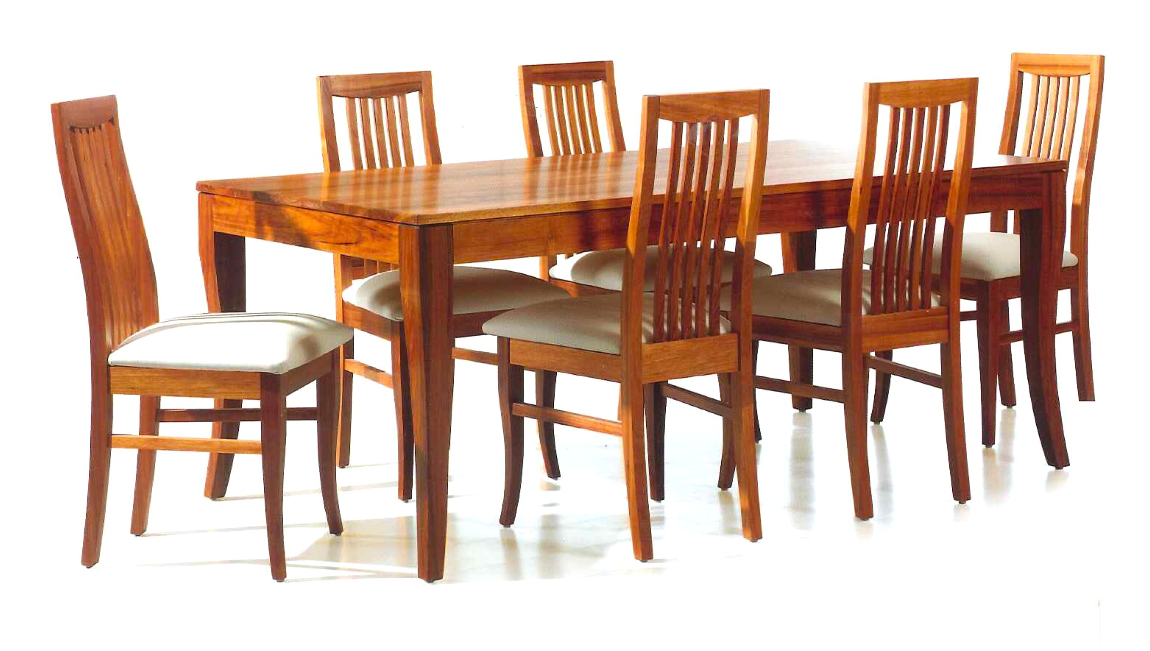 wooden dining tables and chairs photo - 7